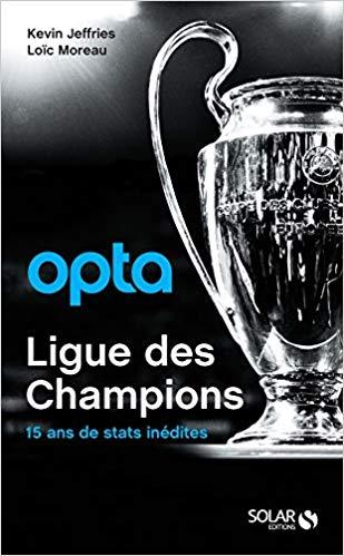 Opta Ligue des champions Couverture du livre