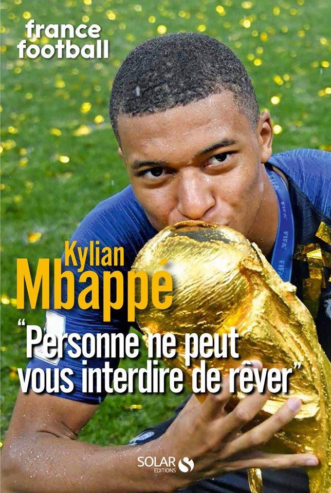 Kylian Mbappé Couverture du livre
