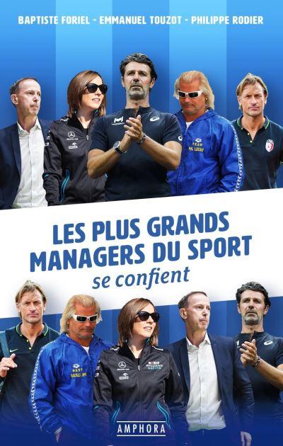 Les plus grands managers du sport se confient Couverture du livre