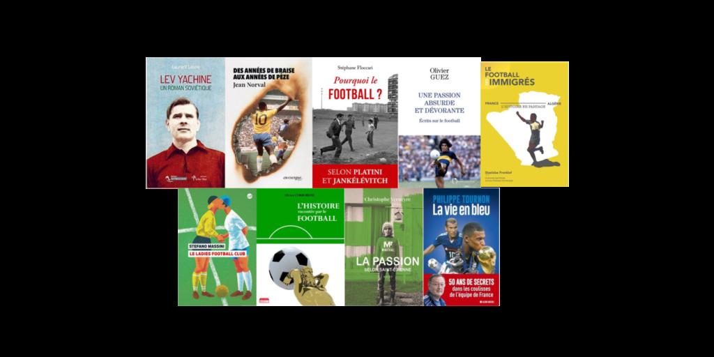 Des livres de foot en lice pour remporter des prix de littérature
